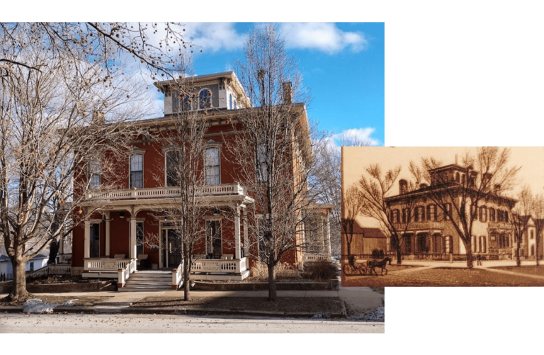 Belvedere Inn photo - then and now